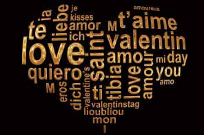 Love words for St. Valentine's