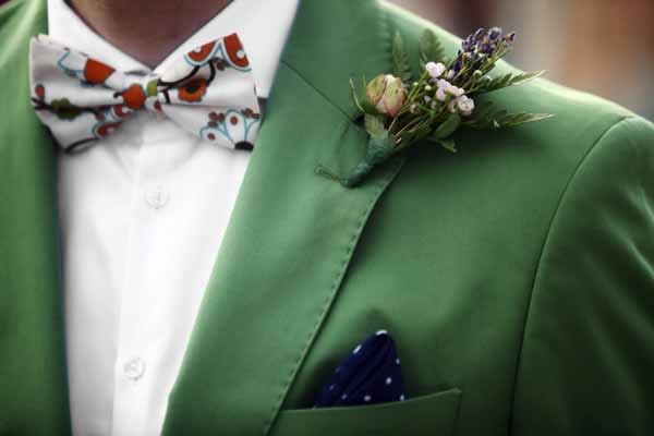 Colored bowtie