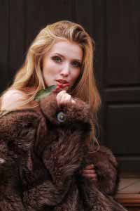 Russian Girl in fur