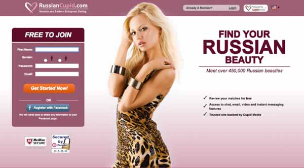The best on-line cupid Russian site