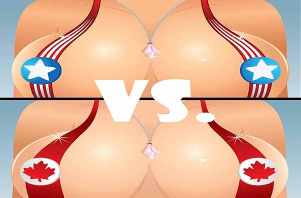 American  vs. Canadian Women