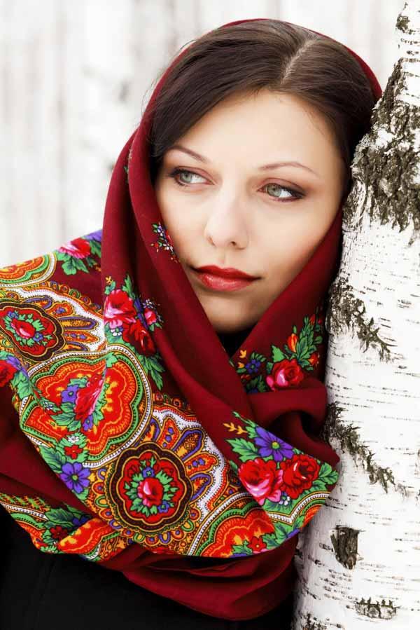 Man Beautiful Russian Woman 37