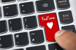 concept for online internet dating
