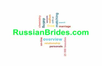 word cloud relevant to dating at RussianBrides.com