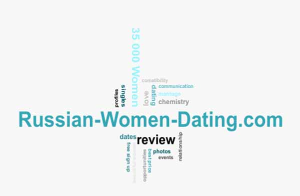 word cloud relevant to dating at Russian-Women-Dating.Com