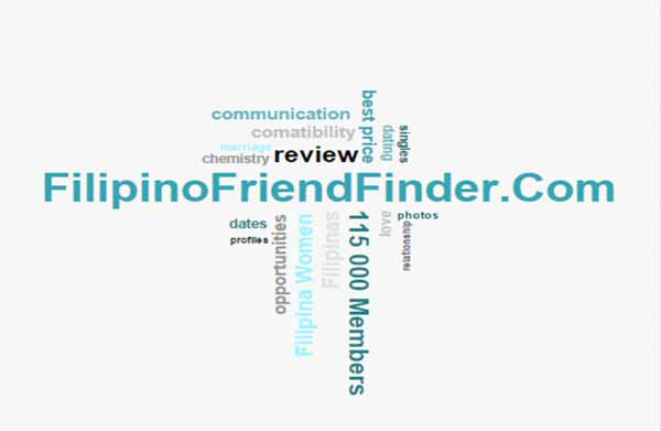 word cloud relevant to dating at FilipinoFriendFinder.Com