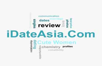 word cloud relevant to dating at iDateAsia.com