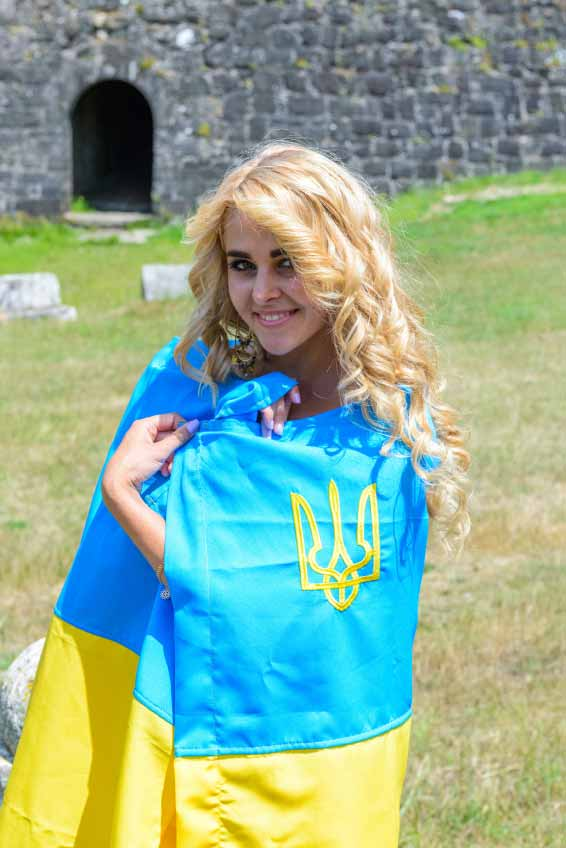 Ukrainian Beautiful young lady