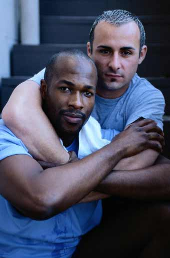 gay interracial couple