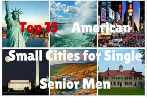 Top 15 American Small Cities for Single Senior men