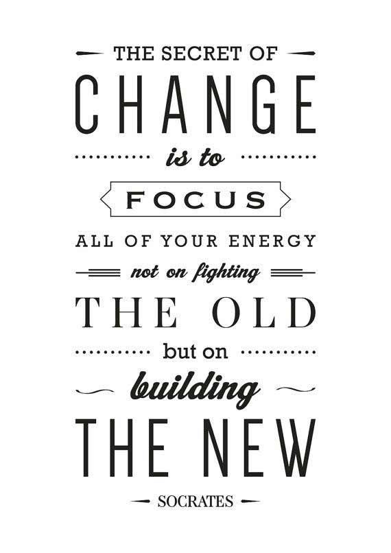 Socrates quote on change