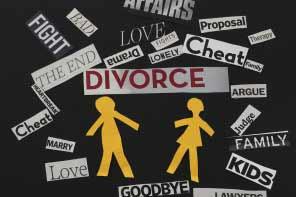 Divorce messages