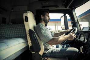 Portrait of a truck driver