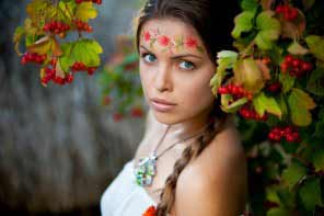 Beautiful young ukrainian lady