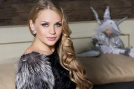 Beautiful Belarusian woman