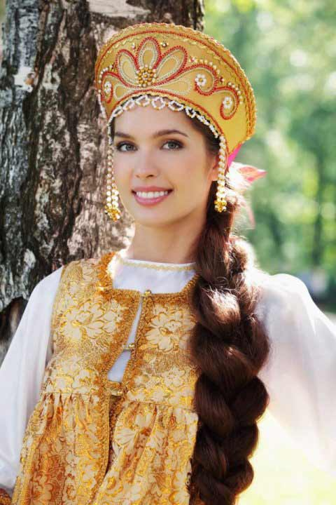 Gorgeous Slavic Bride