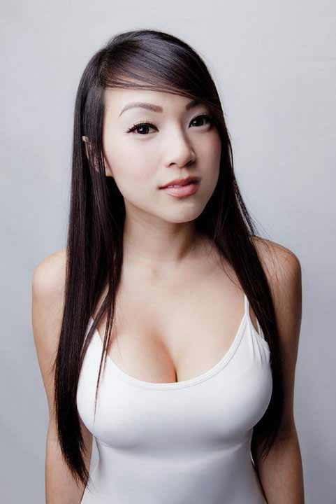 a young beautiful curvy Chinese girl