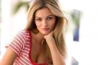 a beautiful Lithuanian girl