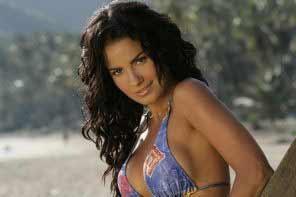 a gorgeous Venezuelan woman