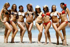 Costa Rica beautiful girls