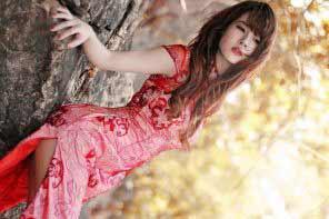 a gorgeous Japanese girl