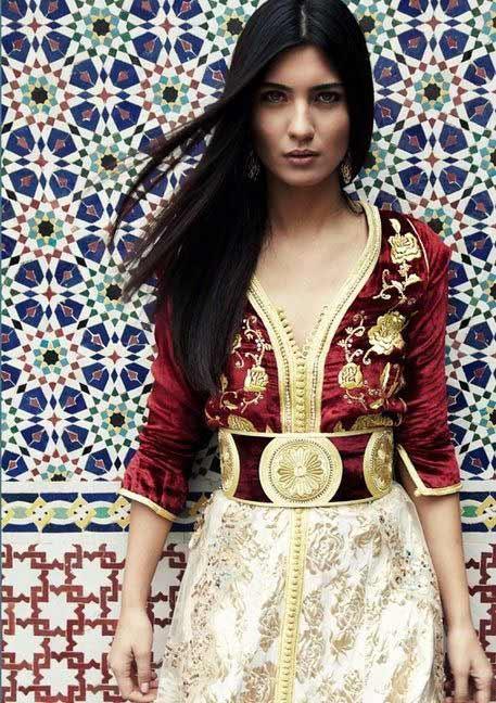 a gorgeous Moroccan woman