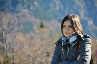 A beautiful young Romanian girl