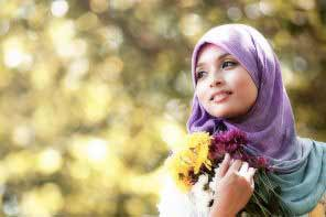 a beautiful Muslim girl