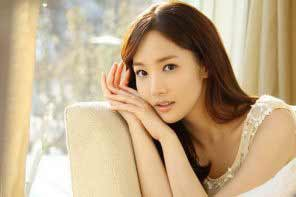 a gorgeous young Korean girl