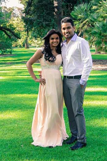 a beautiful Indian couple