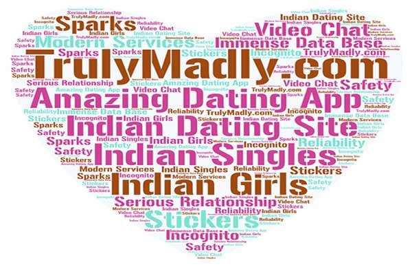 trulymadly.com word cloud