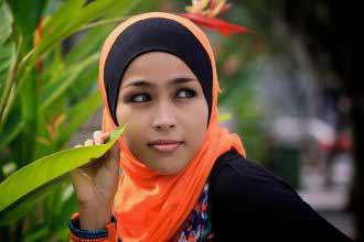 a Malaysian woman