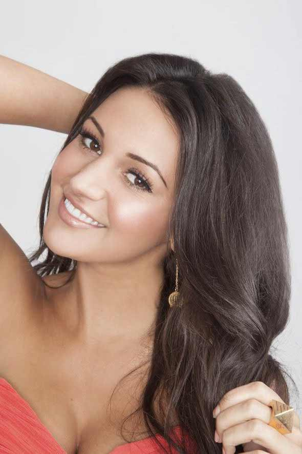 Michelle Keegan smiling