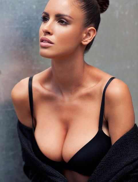 a stunning Bratislava woman