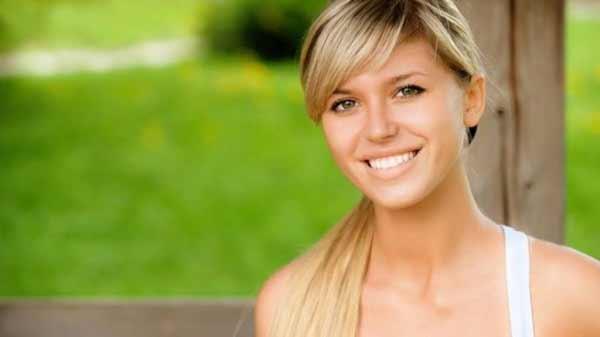 a beautiful blond Polish girl