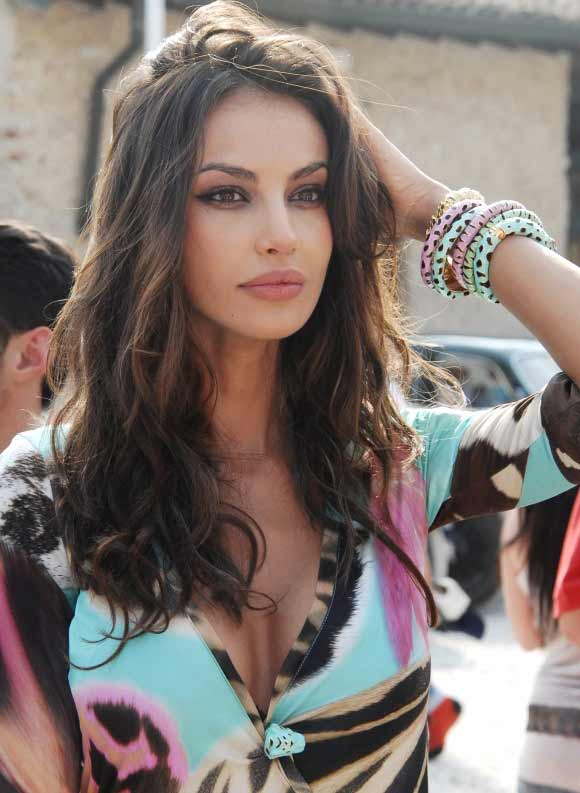 a stunning Romanian woman