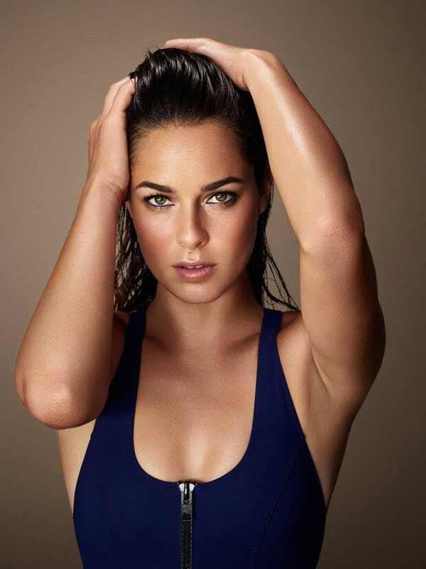 a hot Serbian model