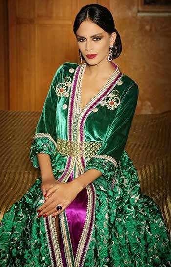 a beautiful Moroccan woman