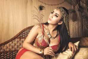 a beautiful Indonesian girl