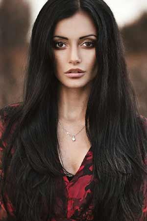 a portrait of a beautiful Russian girl