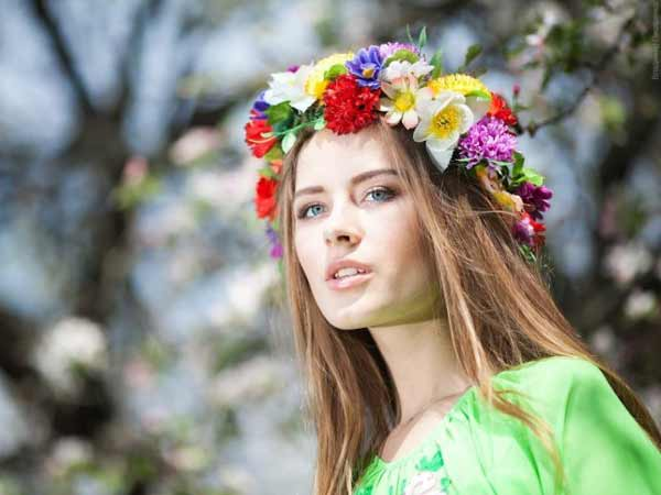 a beautiful Ukrainian girl