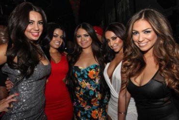 Hot Cuban girls at night club