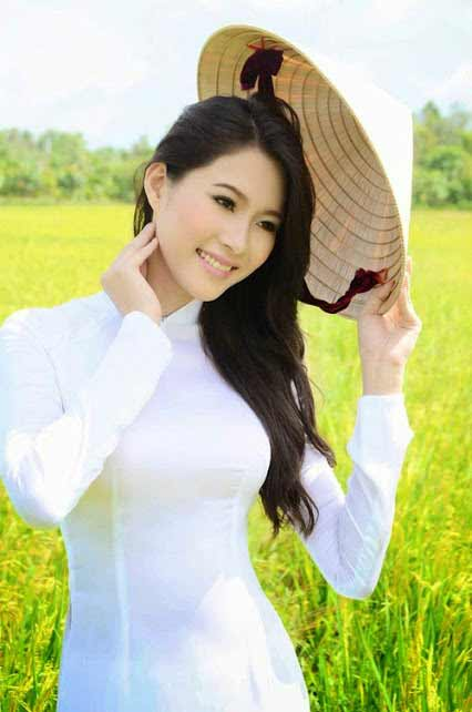 a young Vietnamese woman