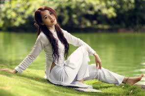 a beautiful Vietnamese girl