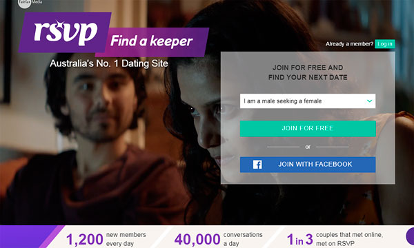 RSVP, the Most Popular Australian Dating Site in 2017