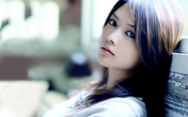 a gorgeous young Chinese girl