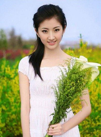 young beautiful Chinese girl