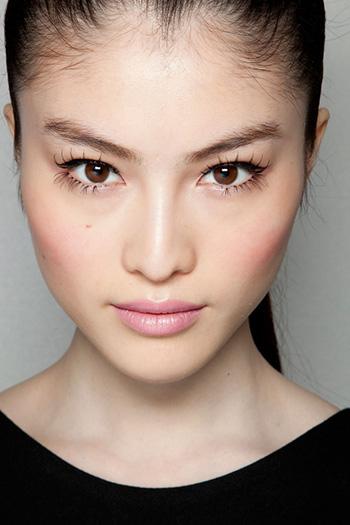beautiful Asian young woman