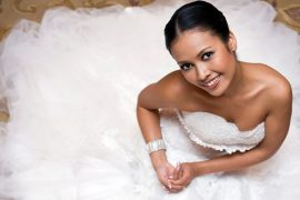 a beautiful Thai bride