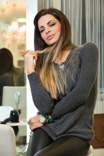 a seductive Croatian woman